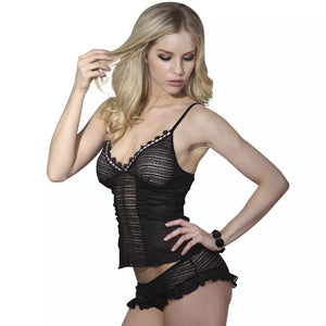 Litedpot 2 pcs Sexy Lingerie Set with Top & Panties Size L / XL