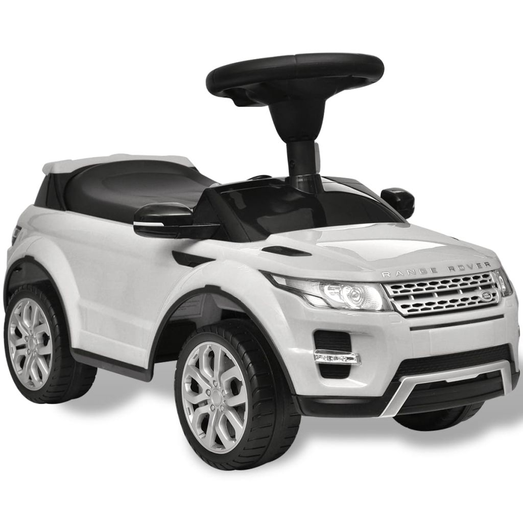 Litedpot Land Rover 348 Kids Ride-on Car with Music White