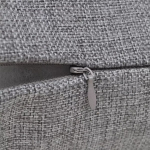 Litedpot 4 Anthracite Cushion Covers Linen-look 40 x 40 cm