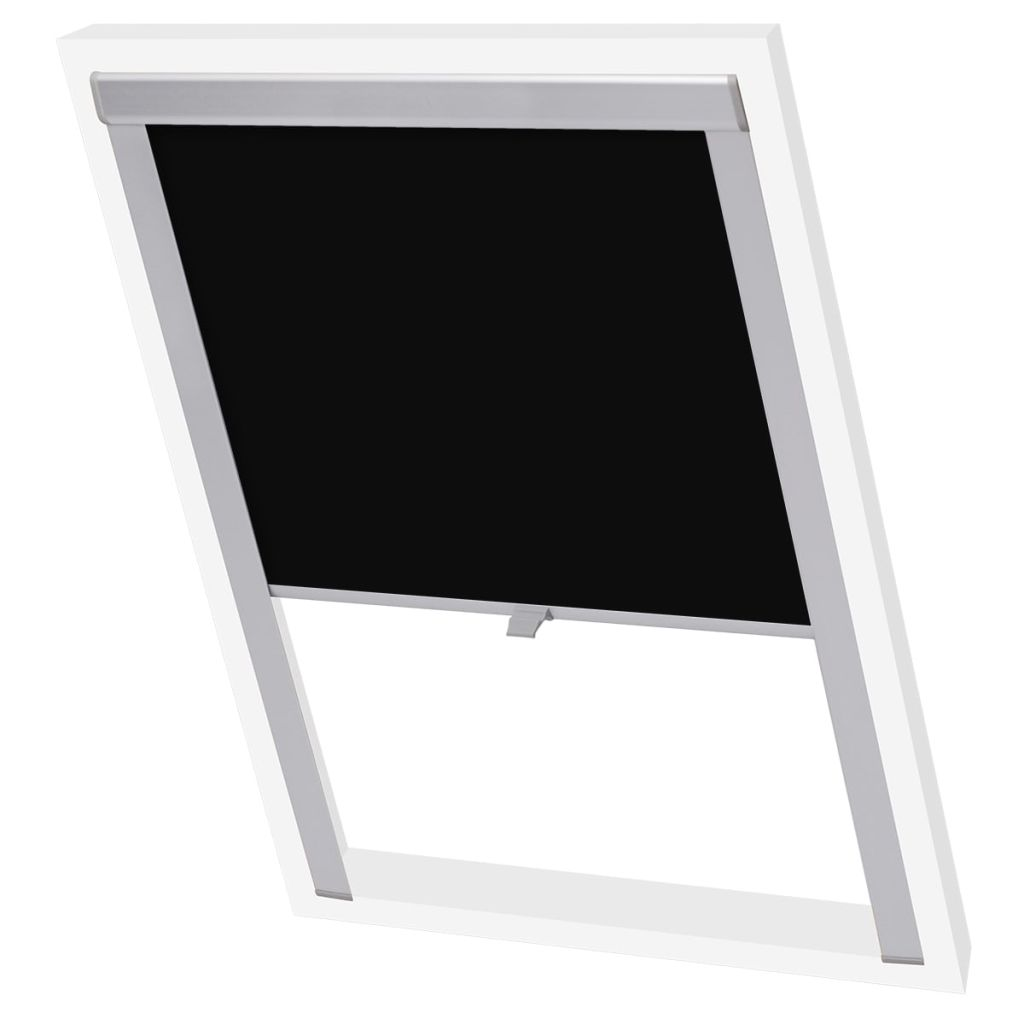 Litedpot Blackout Roller Blinds Black P08/408
