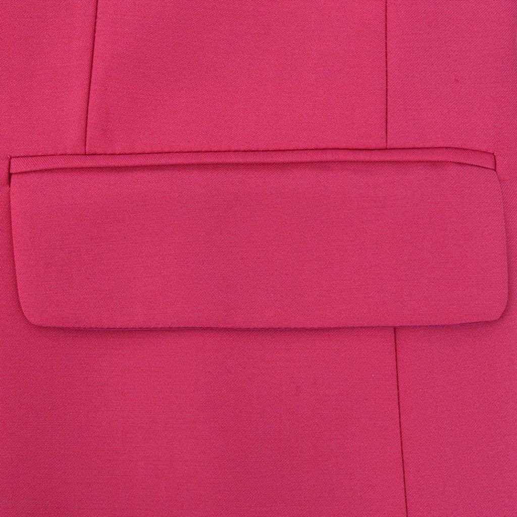 Litedpot Men's Two Piece Suit with Tie Pink Size 50
