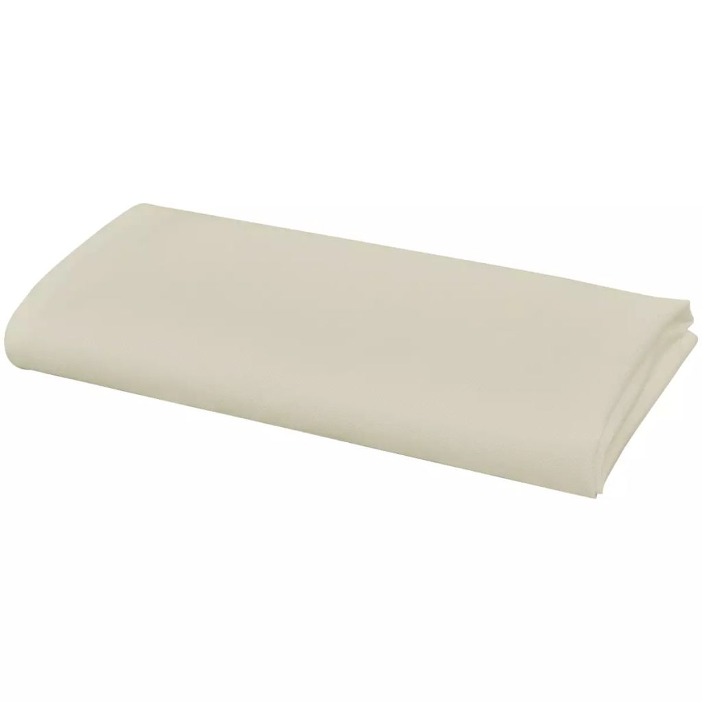 Litedpot Dinner Napkins 25 pcs Cream 50x50 cm