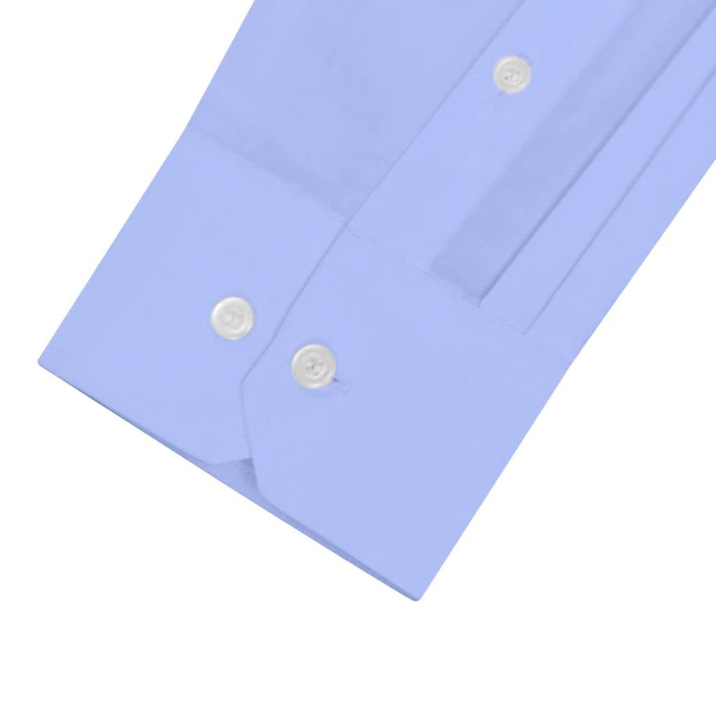 Litedpot Men's Business Shirt Size XXL Light Blue