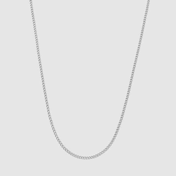 Connell Chain (Silver) 2mm