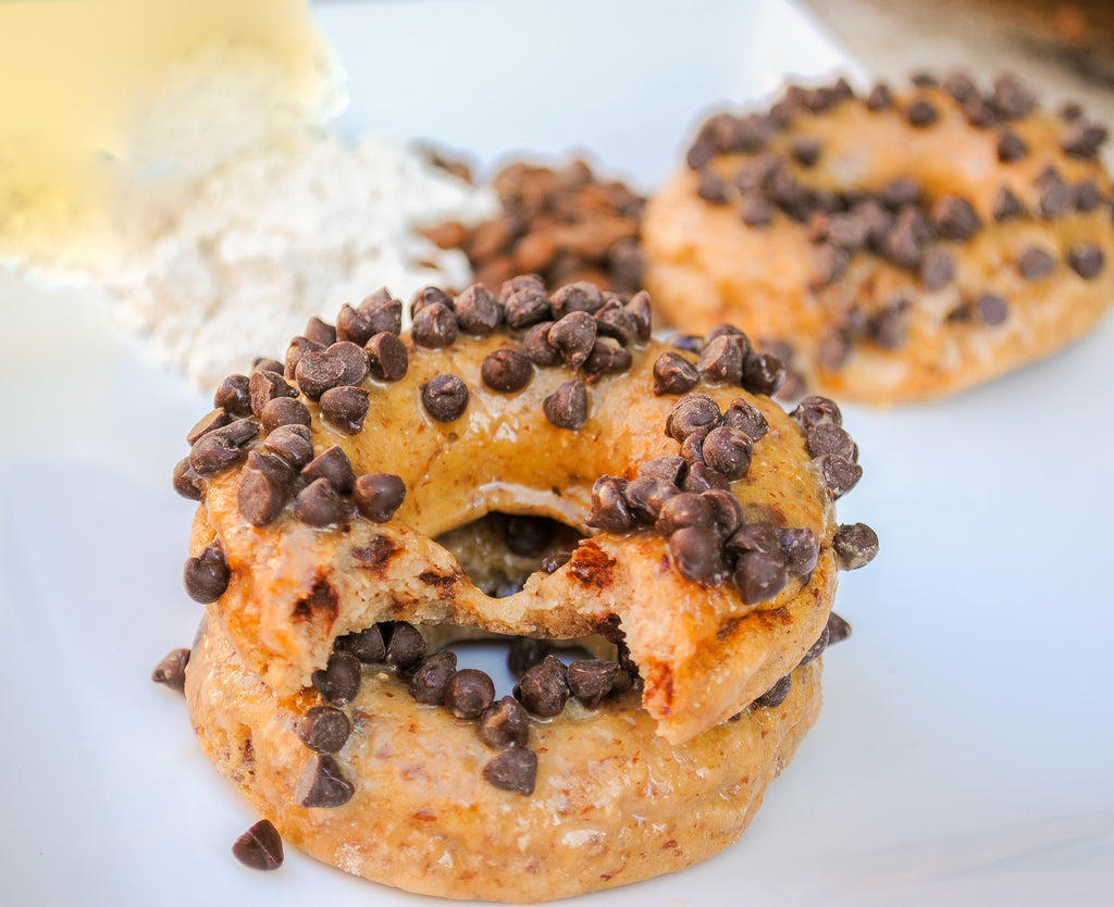 java chip protein donuts