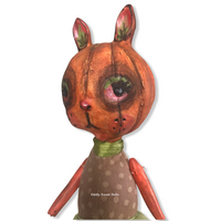 pepo pumpkin art doll