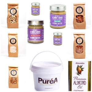 Nuts, Nut Butters, Pastes and Oils