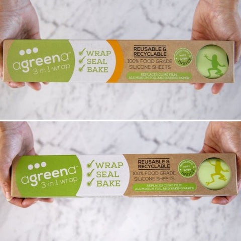 Agreena Bakers Sheet 3-in-1 Reusable Wraps - 2 pack