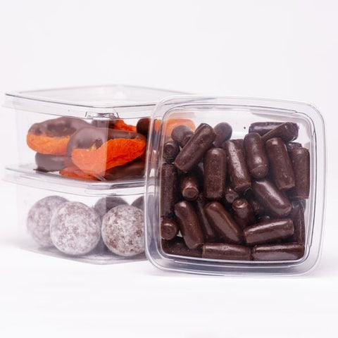 Licorice Bullets - Dark Choc - 100g