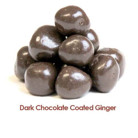 Ginger - Dark Choc Coated - per 10gm