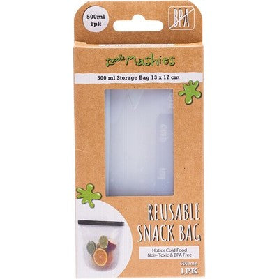 Little Mashies - Reusable Food Pouch - 500ml