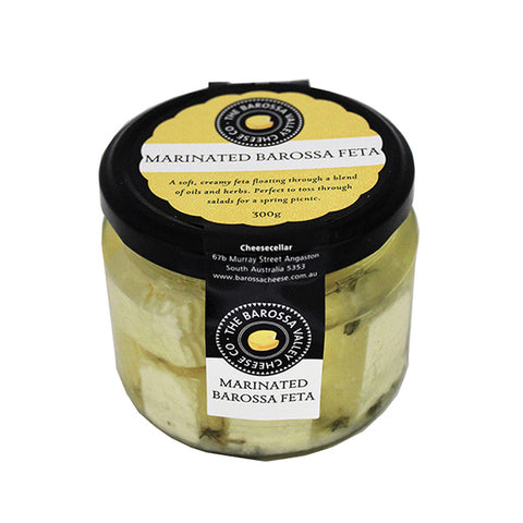 Barossa Valley Cheese Co. Marinated Feta- 300g
