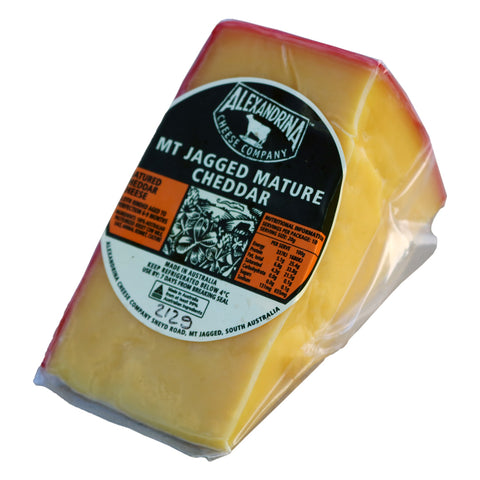 Alexandrina Cheese Co. Mt Jagged Mature Cheddar
