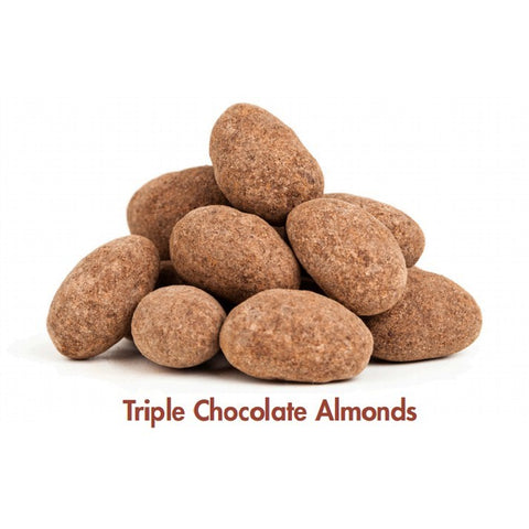 Almonds - Triple Choc Coated - 100g