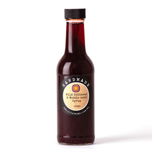 Wild Hibiscus & Wattle Seed Syrup-250ml