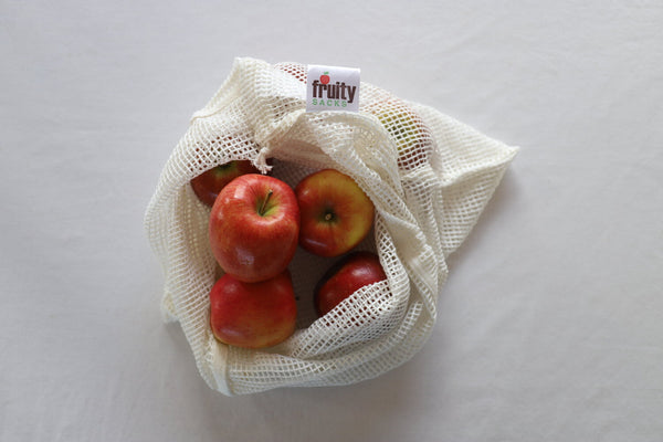 Fruity Sacks - 3 pack - Green mesh