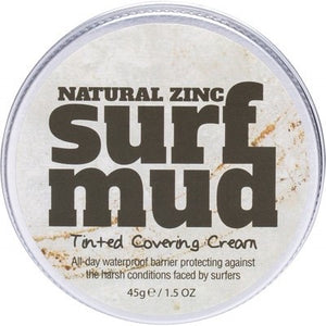 SURFMUD Natural Zinc Tinted Cover Cream - 45gm