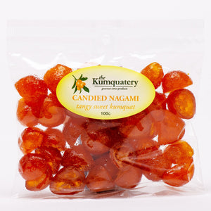 The Kumquatery - Candied Marumi Kumquats - 100gm