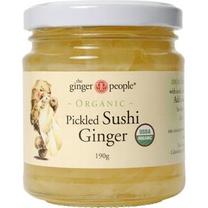 The Ginger People - Organic Pickled Sushi Ginger - 190gm