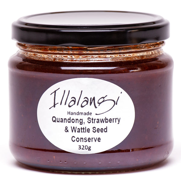 Illalangi Quandong, Strawberry and Wattleseed Conserve
