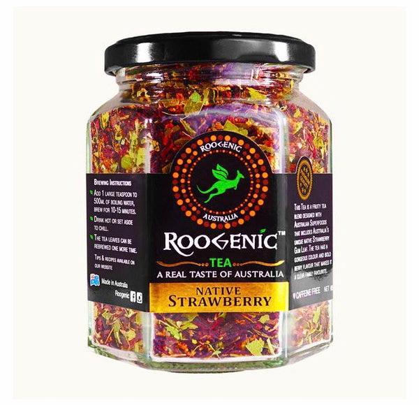 Roogenic Tea Jar - Native Strawberry