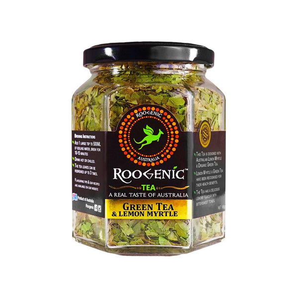 Roogenic Tea Jar - Lemon Myrtle