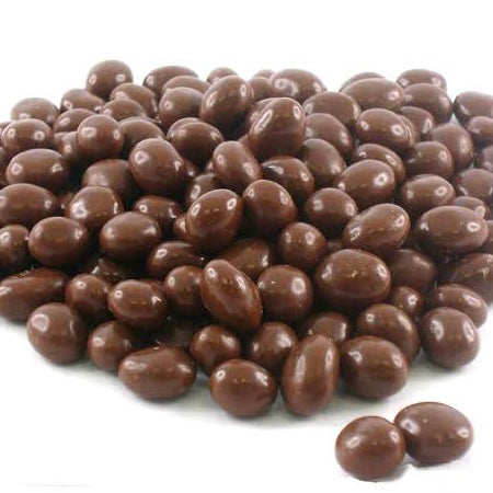 Milk Choc coated Sultanas - per 10gm