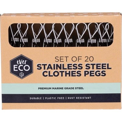 Ever Eco - Stainless Steel Pegs - 20 pack