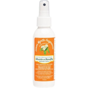Lemon Myrtle Fragrances Mozzie & Sandfly Repellent