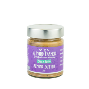 The Almond Farmer - Almond Butter - Chia and Date