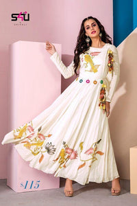 Womens Readymade Designer Kurti For Girls