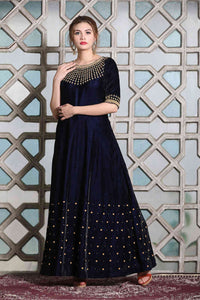 Women Black Color Net Lehenga Choli