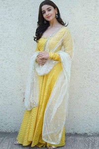 Sophisticated New Latest alia bhatt Anarkali Suit