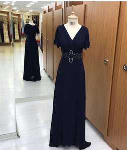 Gorgeous look wear Blue color designer Gown