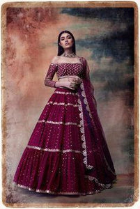 Stitched Anarkali Gown