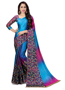 Latest Fancy Multi Color Beautiful Party Wear Saree Collection