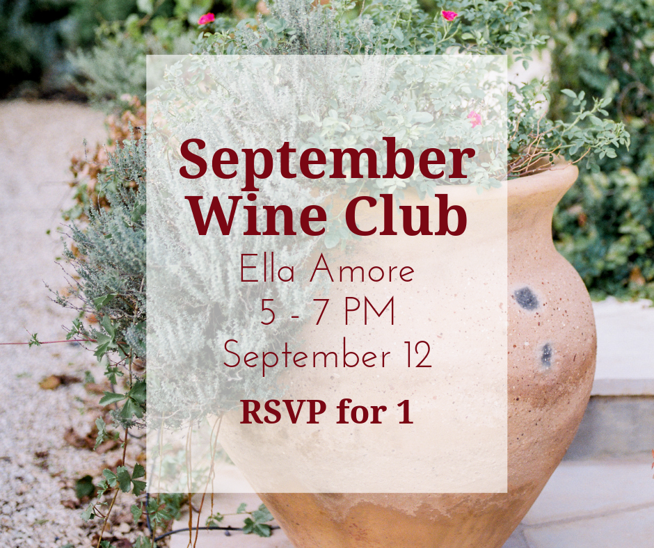 September Wine Club RSVP (1 person)