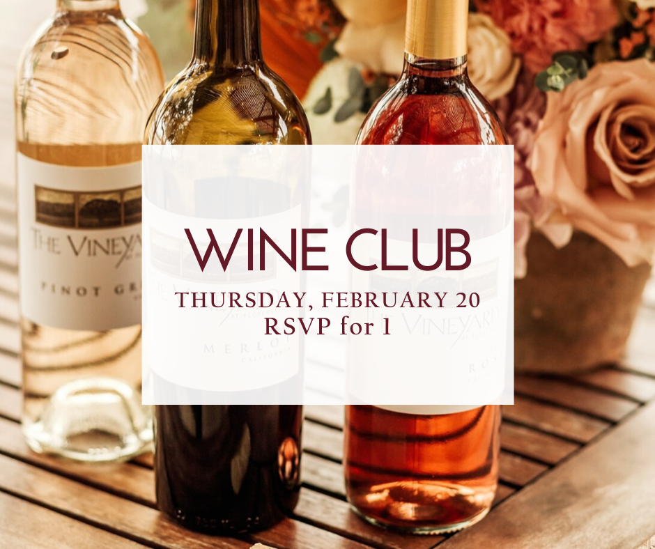 February Wine Club RSVP (1 person)