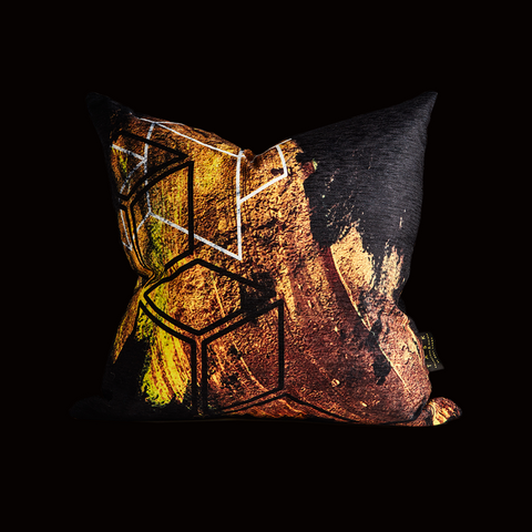 """Riches in the Air""  Scatter Cushion"