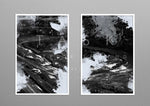 "Winding Roads"" Artwork diptych"