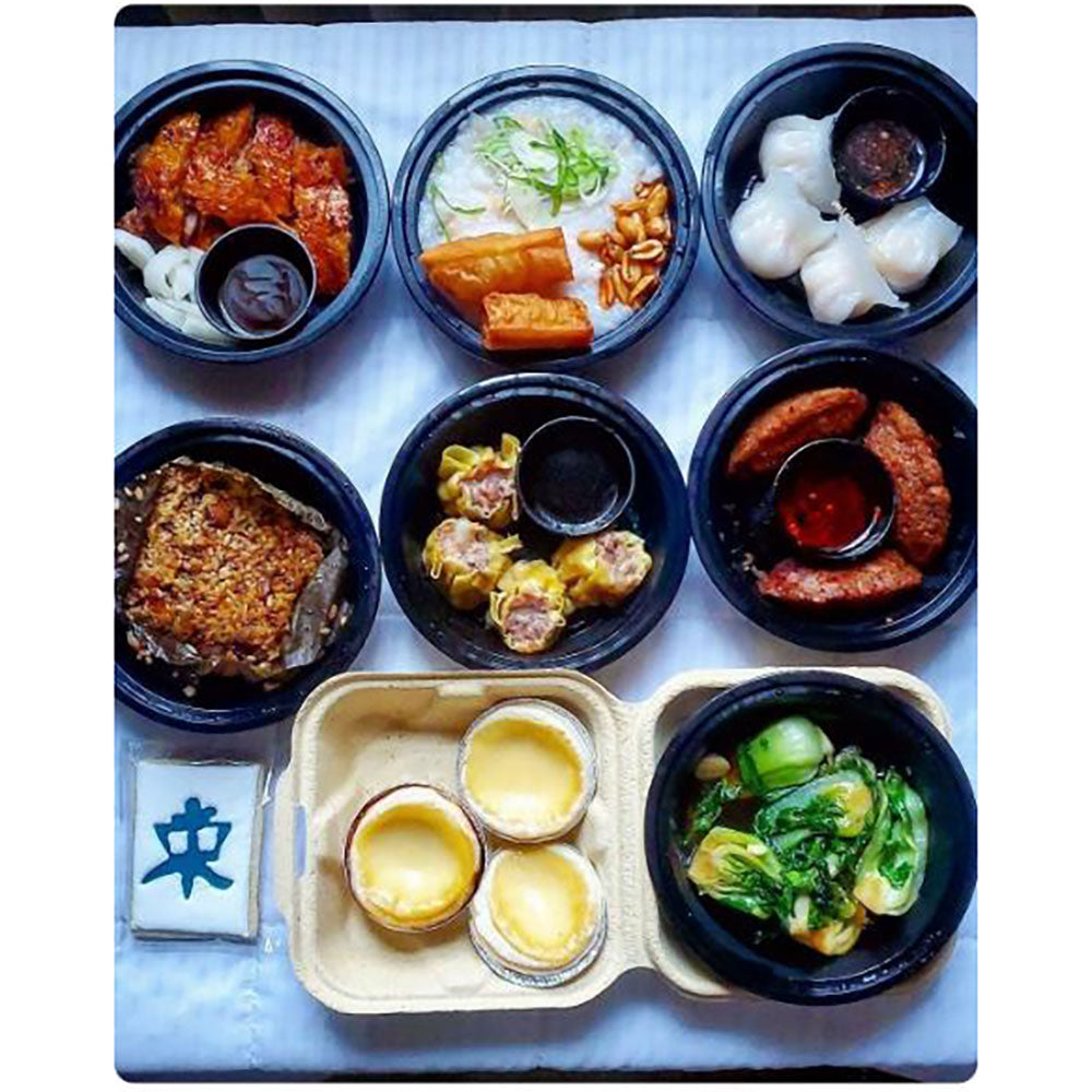 Dim Sum Box 四 pick up Sunday 12/27 at Ki Ramen