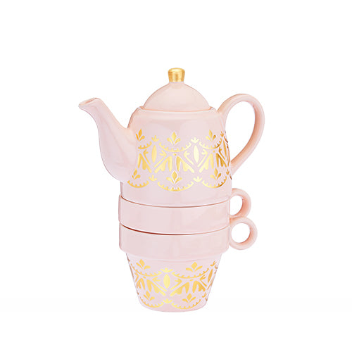 Taylor™ Casablanca Pink Tea for Two - NutriTeaCup