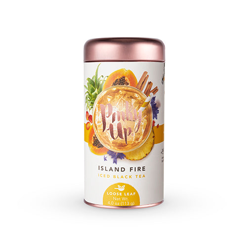 Island Fire Loose Leaf Iced Tea - NutriTeaCup