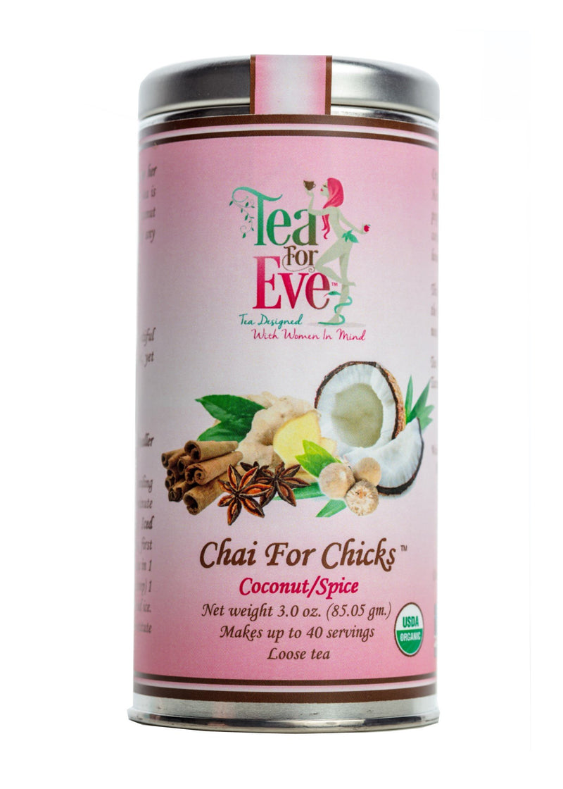 Chai For Chicks-Coconut/Spice - NutriTeaCup