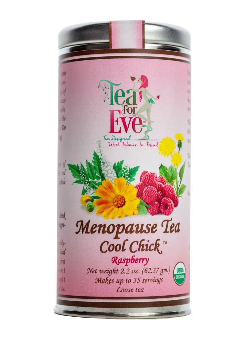 Menopause Tea-Cool Chick-Raspberry - NutriTeaCup