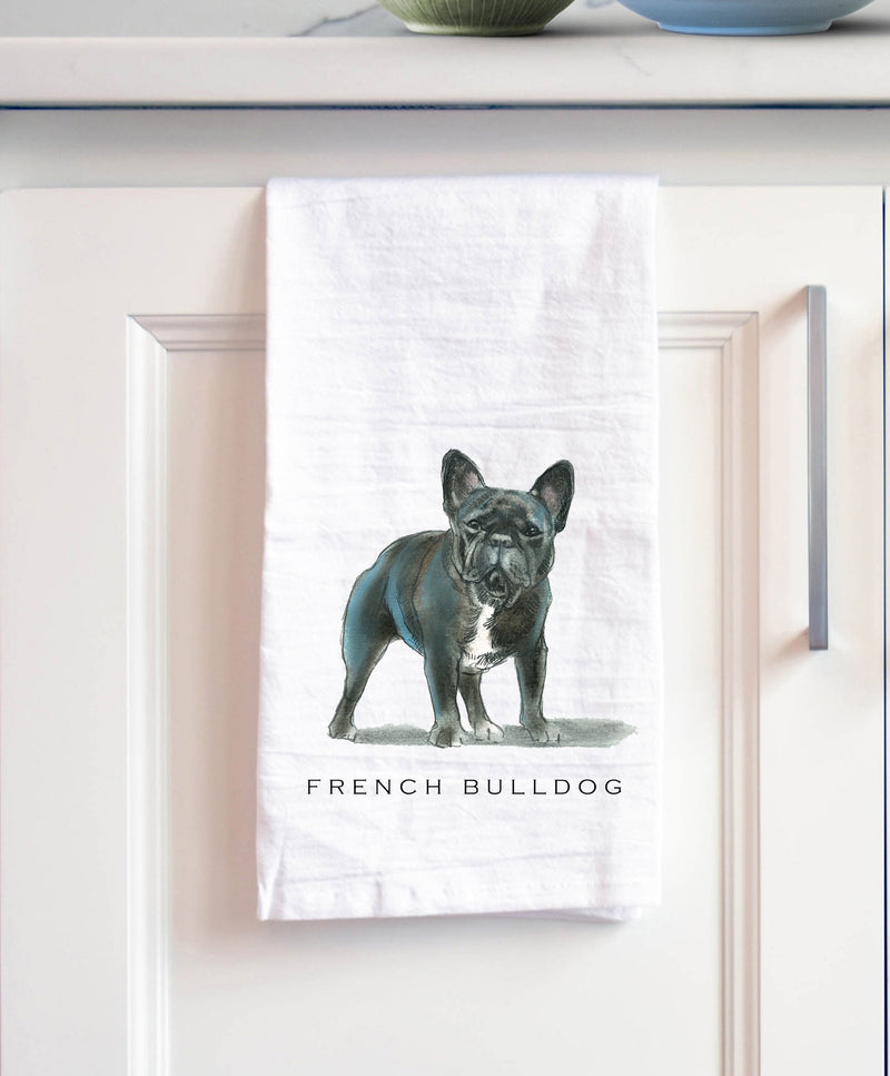 French Bulldog Tea Towel - NutriTeaCup