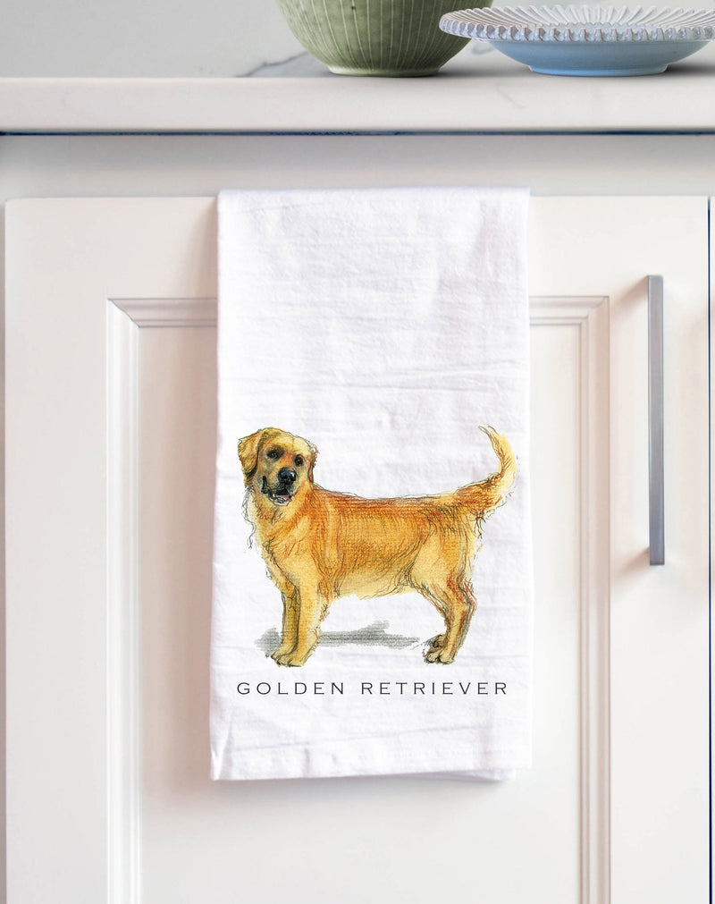 Golden Retriever Tea Towel - NutriTeaCup
