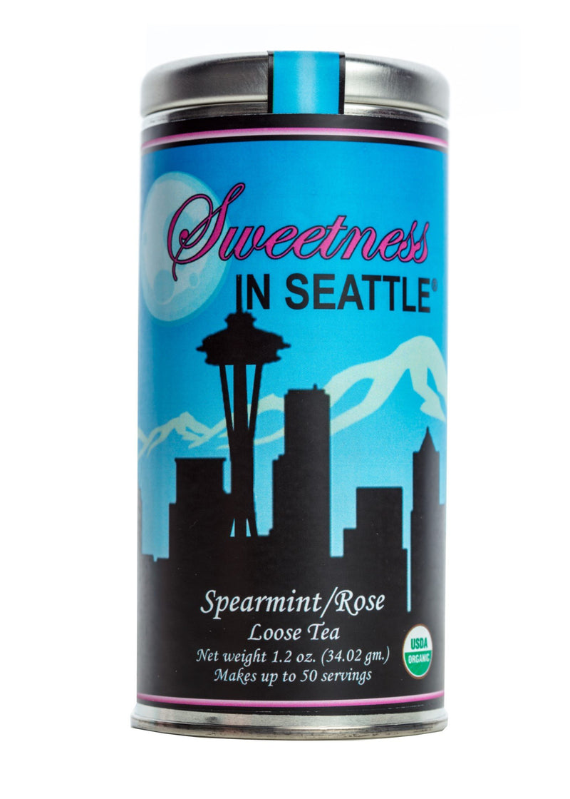 Sweetness In Seattle-Spearmint/Rose - NutriTeaCup