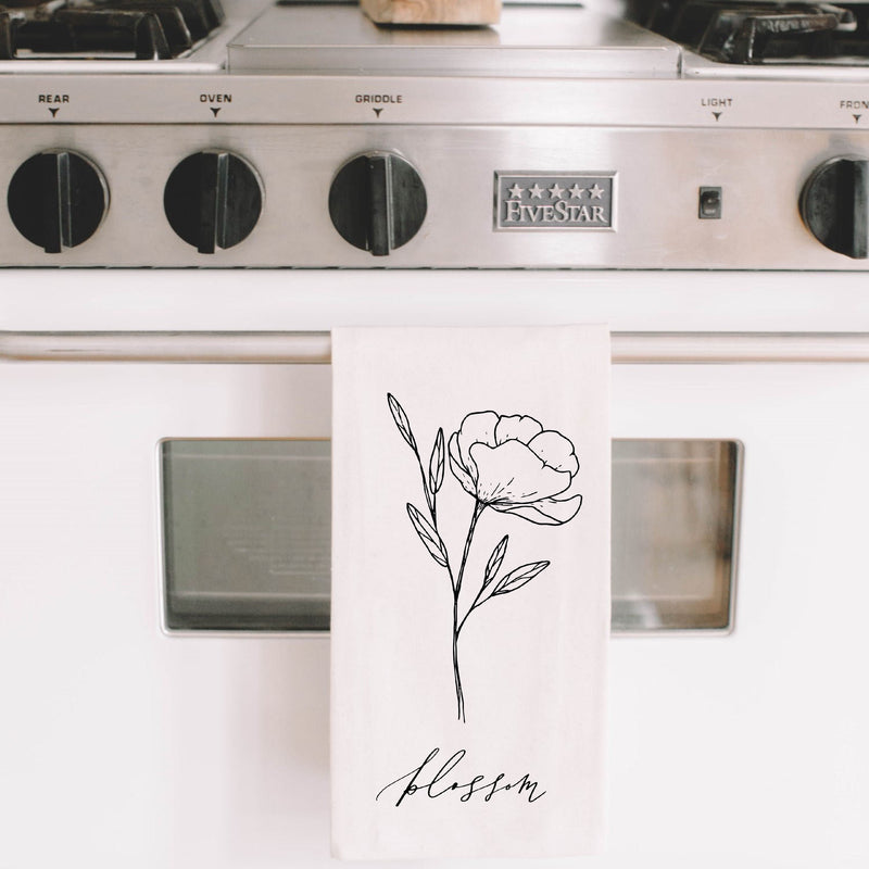 Blossom Wildflower Tea Towel - NutriTeaCup