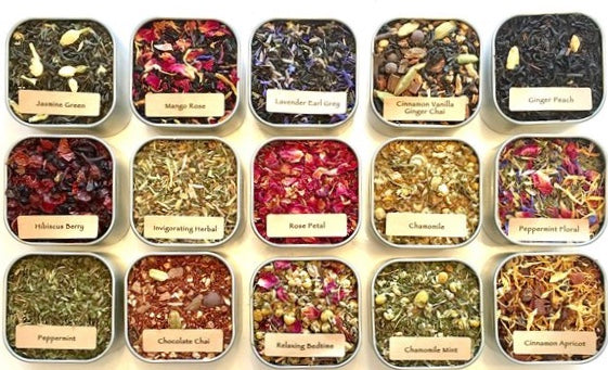 Assorted Hand Blended Loose Leaf Tea - NutriTeaCup